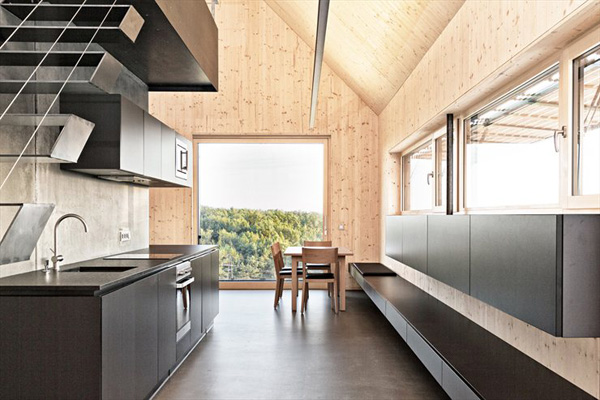 austrian summer home clad in wood 5