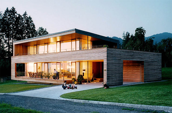 Austrian Wooden Houses Timber Clad Inside And Out