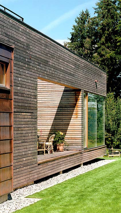 austrian wooden houses timber clad inside and out. Black Bedroom Furniture Sets. Home Design Ideas