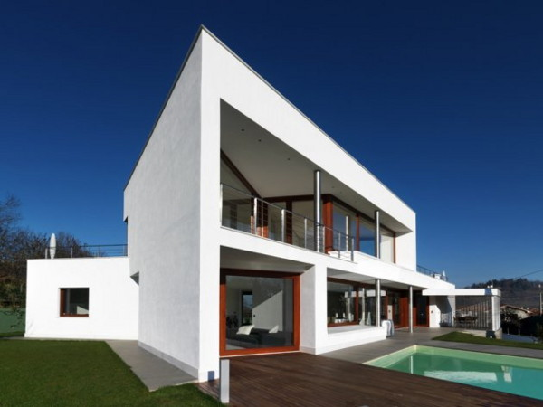 b house damilano 20 Modern Luxury Home in Cuneo, Italy by Architect Duilio Damilano