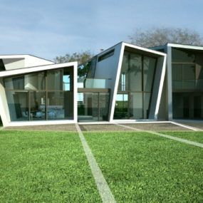 """Wow"" Factor at Modern Badgers View Farm House, by Lewis & Hickey"