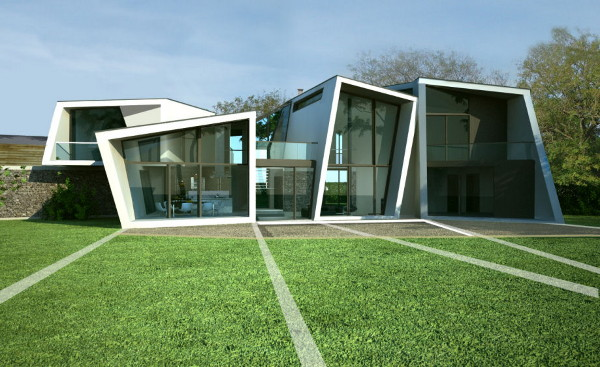 badgers view farm house 1 Wow Factor at Modern Badgers View Farm House, by Lewis & Hickey