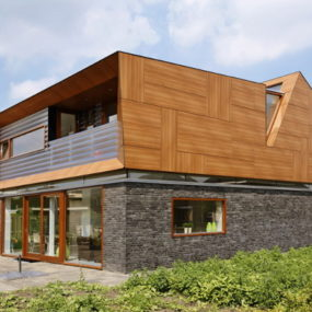 Uniquely Balanced Contemporary Home by JagerJanssen Architects, Rotterdam, Netherlands
