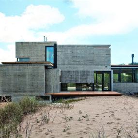 Bare Concrete Beach House