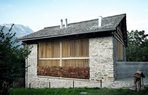 barn conversion soglio switzerland 1 An Old Barn Gets a Modern Conversion in Soglio, Switzerland