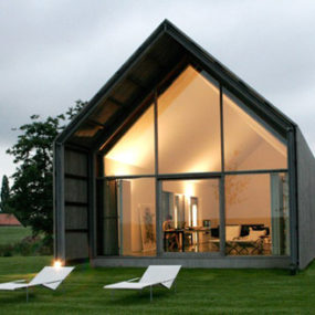 Sustainable Reclaimed Barn House in Belgium