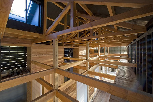 barn style house japanese architecture firm 7