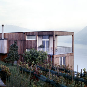 Lake View House Design in Switzerland