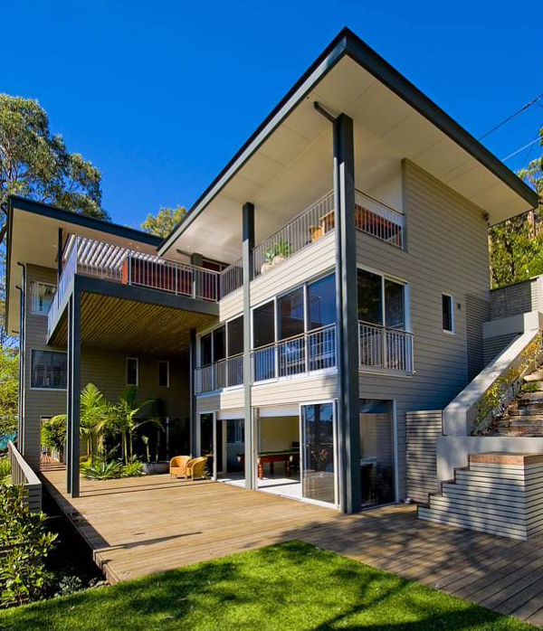 Home Design Ideas Australia: Bay House Design On Australia Shoreline
