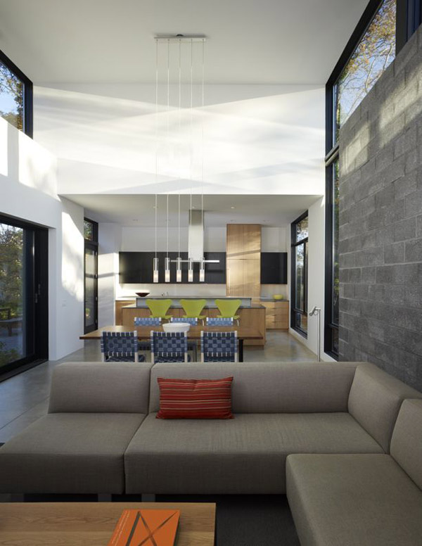 bay view homes natural modern private courtyard 3