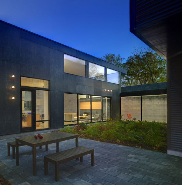 bay view homes natural modern private courtyard 6 Bay View Homes: Natural Modern House with Private Courtyard
