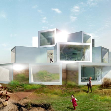 big brother house 1 Big Brother House   Ultra Modern Residential Design in Inner Mongolia, China