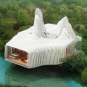 Modern Sustainable Home Design at Bird Island, Kuala Lumpur, Malaysia