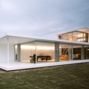 Modern Minimalist House in Japan Folds to Frame Magnificent View