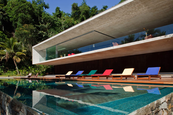 brazil house beachfront views 4 Beach front Designs: Brazilian Beach House is spectacular