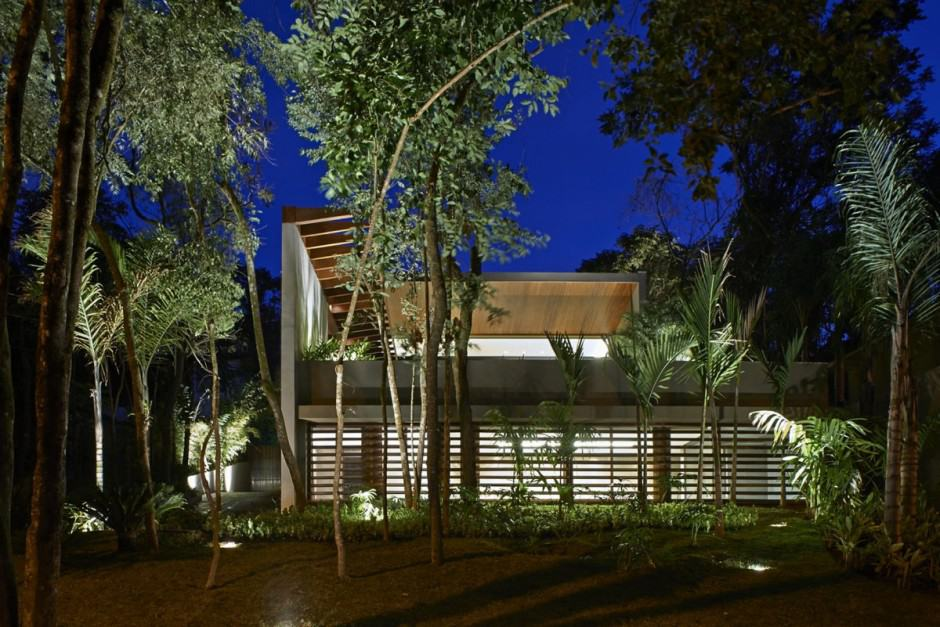 View in gallery brazil house with luxe garden and outdoor living