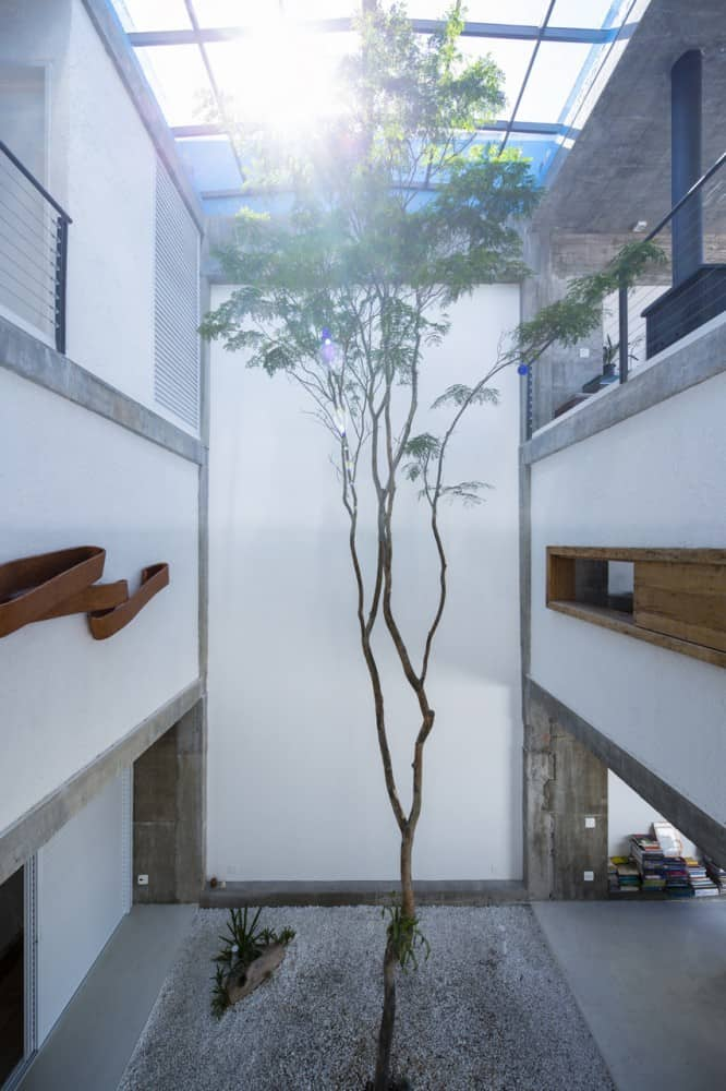 Three Story Courtyard House