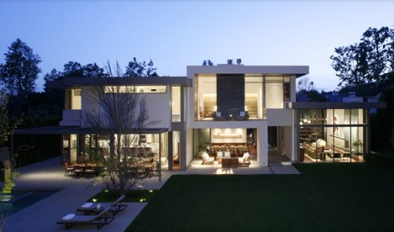 brentwood residence 2 contemporary california cool house by belzberg architects - Cool Home Design