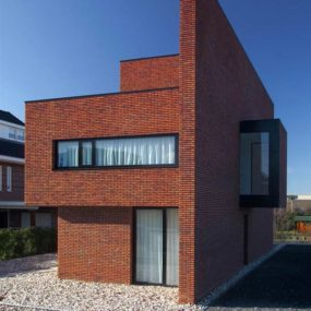 brick-wall-house-minimalist-style-1-285x285 House With Brick Design on house with wood, house with concrete, house with swings, house with pavers,