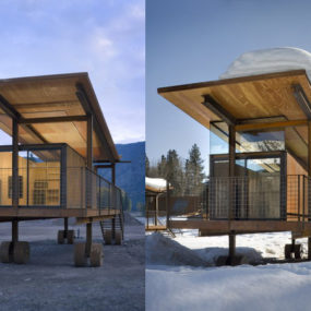 Cabin on Wheels – Rolling Huts, in memory of the RV park ;-)