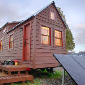 Cabin-Style Compact Mobile Home For Two