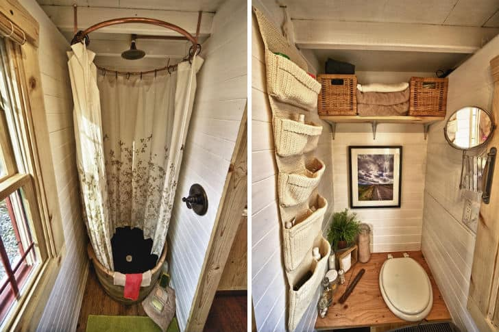 Cabin-Style Compact Mobile Home For Two on old mobile home curtains, old mobile home appliances, old mobile home toilet, old mobile home exterior, old mobile home carpet, old mobile home wiring, old mobile home construction,