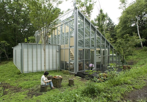 Camouflage House 2 Sustainable Architecture In Japan A Greenhouse For A  House!