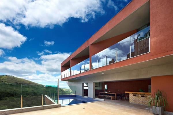cantilever house design brazil 2