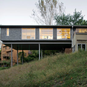 Cantilevered House for a Life of Play!