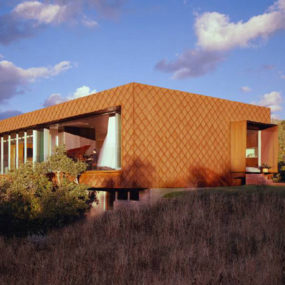 Canyon View House with Eco Features
