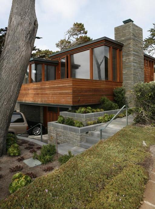 carmel residence 1 Weekend House   Coastal Cottage Chic in Carmel, California