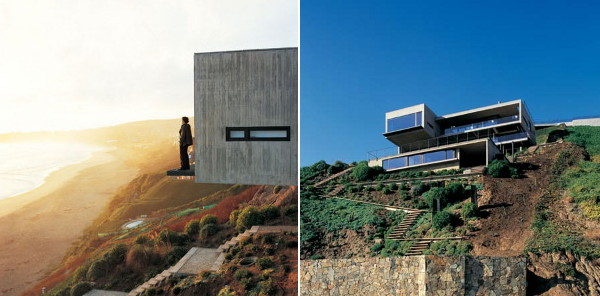 casa 11 mujeres 1 Contemporary Cliffside Home Overlooking Chilean Surf and Sand
