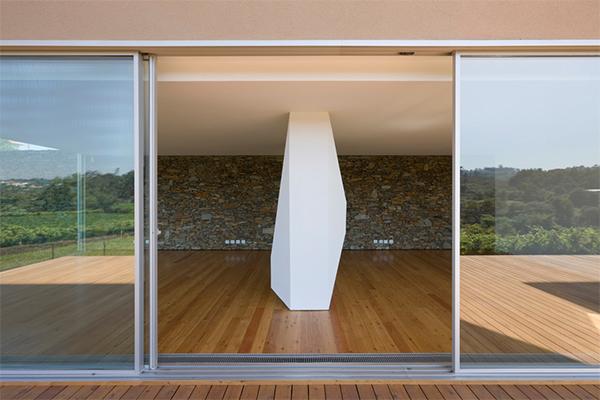 casa em lousado 13 Modern Farmhouse Design in Portugal   where urban meets rural
