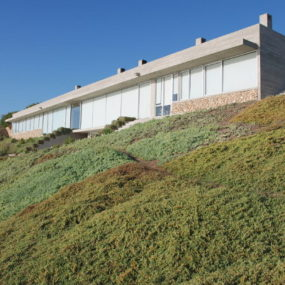 Coastal Home Design has it all: ocean views, beach and hidden garden!