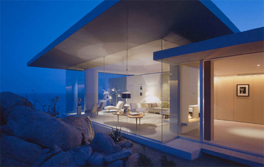 casa finisterra 1 Contemporary Beach Home   concrete and stone