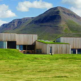 Sustainable House in Iceland – Grass-Topped House at the Arctic Circle
