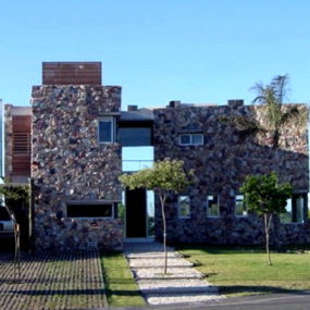 Stone-Walled in Style at Argentina's Casa Nordelta