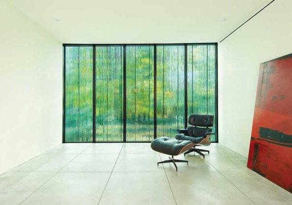cascade house 3 Eco friendly Home Design in Toronto   a window with a waterfall effect...