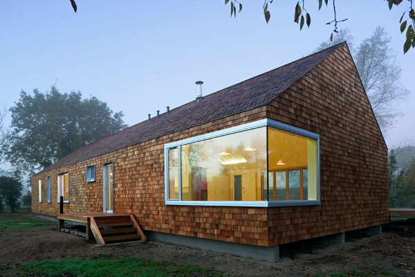 cedar house 2 Prefab Country Homes   Cedar Home Design in Norfolk, UK