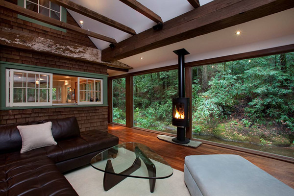 charming creekside cabin california 2