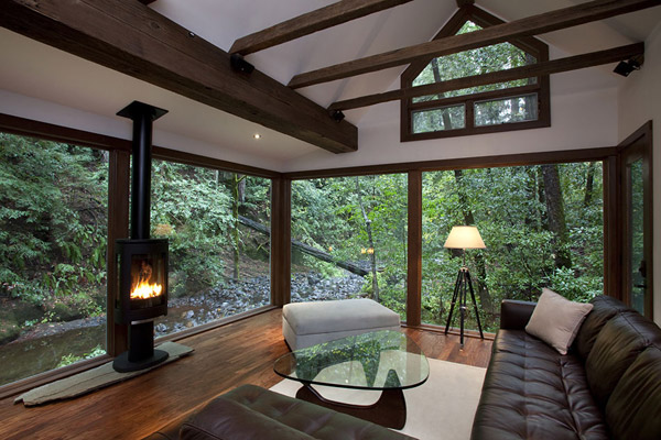 charming creekside cabin california 4