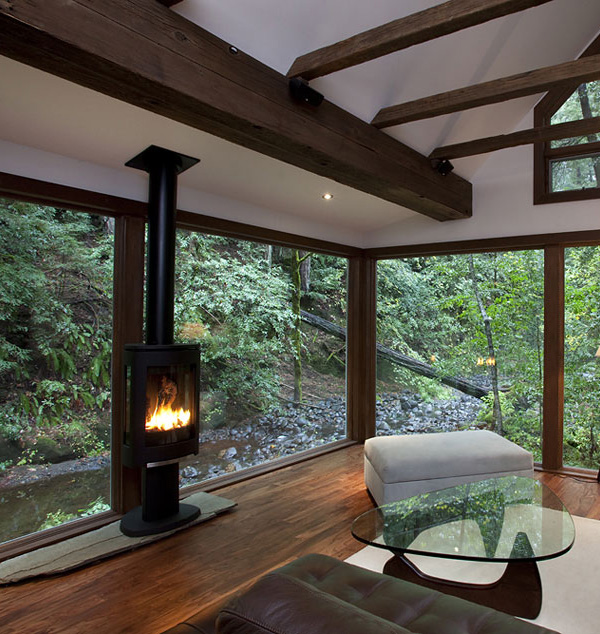 charming creekside cabin california 6