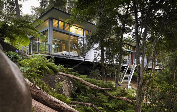 steel home designs. church point house 2 Glass and Steel House Architecture  Contemporary Design in Sydney Australia