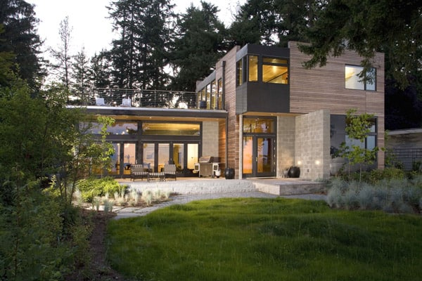 cliff house design eco friendly 1 Environmentally Friendly Architecture by Coates Design