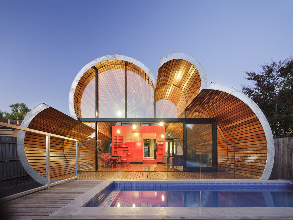 View In Gallery Cloud House Adds Ultra Modern Element To Historic Home 1  Thumb 630x474 8806 Living On Cloud