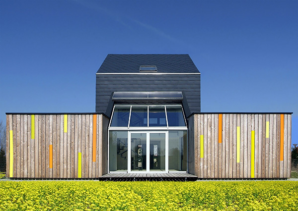 co2 saver house 1 Sustainable and Stylish CO2 Saver House in Poland
