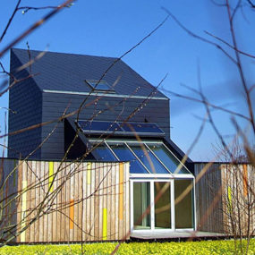 Sustainable and Stylish CO2 Saver House in Poland