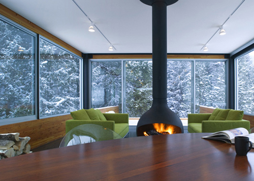 Colorado Mountain Home Design Is Modern Mountain Chic