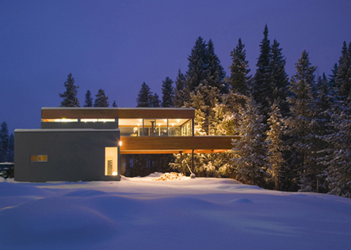Colorado Mountain Home Design is Modern Mountain-Chic!