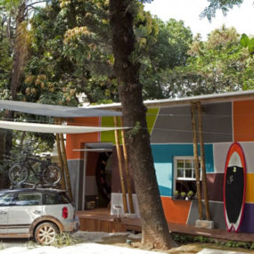 Colorful Cottage Home in Brazil